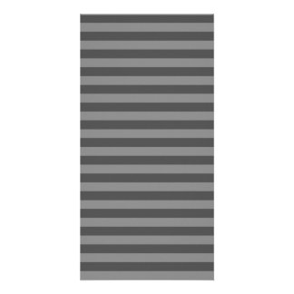 Thin Stripes - Gray and Dark Gray Picture Card