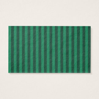 Thin Stripes - Green and Dark Green Business Card