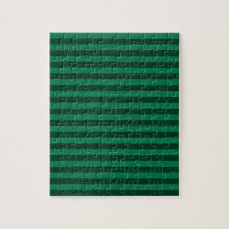 Thin Stripes - Green and Dark Green Puzzles