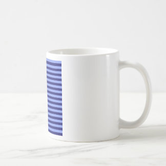 Thin Stripes - Light Blue and Dark Blue Coffee Mug