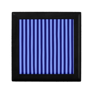 Thin Stripes - Light Blue and Dark Blue Gift Box