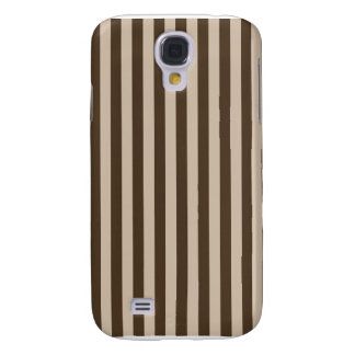 Thin Stripes - Light Brown and Dark Brown