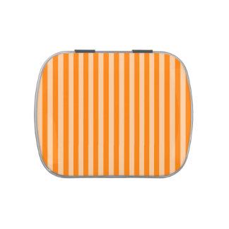 Thin Stripes - Light Orange and Dark Orange