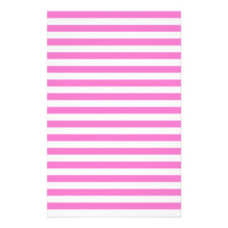 Thin Stripes - Light Pink and Dark Pink Stationery