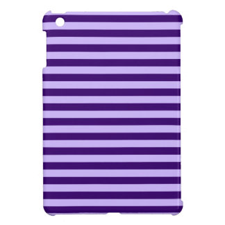 Thin Stripes - Light Violet and Dark Violet Case For The iPad Mini