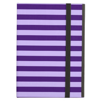 Thin Stripes - Light Violet and Dark Violet iPad Air Cases