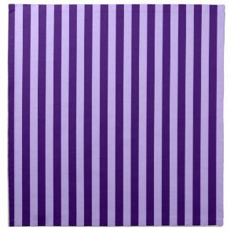 Thin Stripes - Light Violet and Dark Violet Napkin