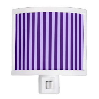 Thin Stripes - Light Violet and Dark Violet Nite Lite