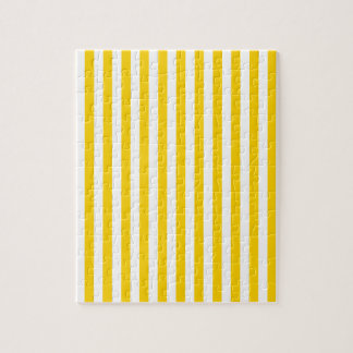 Thin Stripes - Light Yellow and Dark Yellow Jigsaw Puzzle