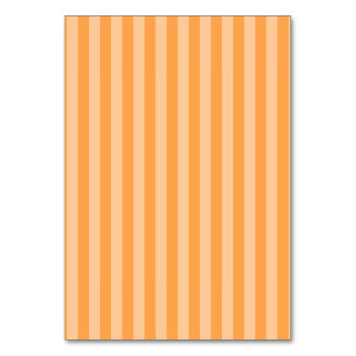 Thin Stripes - Orange and Light Orange Card
