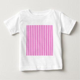 Thin Stripes - Pink and Dark Pink Baby T-Shirt