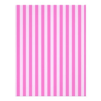 Thin Stripes - Pink and Dark Pink Letterhead