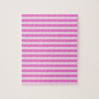 Thin Stripes - Pink and Dark Pink Puzzle