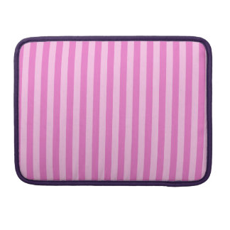 Thin Stripes - Pink and Dark Pink Sleeves For MacBooks