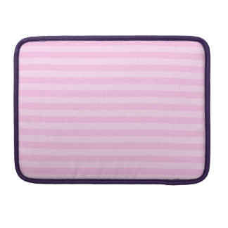 Thin Stripes - Pink and Light Pink Sleeves For MacBook Pro