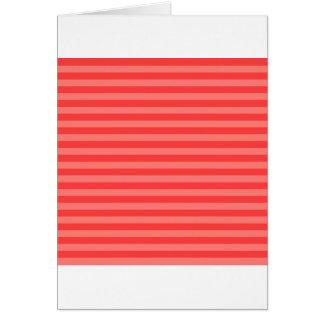 Thin Stripes - Red and Light Red Card