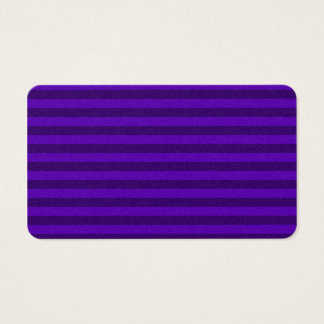 Thin Stripes - Violet and Dark Violet Business Card
