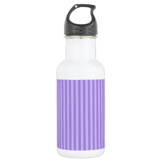 Thin Stripes - Violet and Light Violet 532 Ml Water Bottle