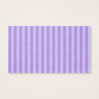 Thin Stripes - Violet and Light Violet Business Card