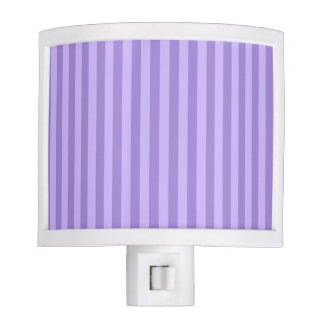 Thin Stripes - Violet and Light Violet Nite Lites