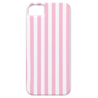 Thin Stripes - White and Cotton Candy iPhone 5 Case