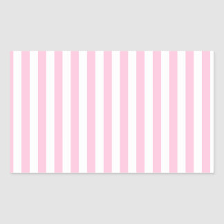Thin Stripes - White and Cotton Candy Sticker