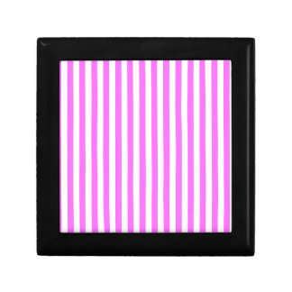 Thin Stripes - White and Ultra Pink Gift Box