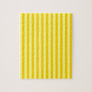 Thin Stripes - Yellow and Dark Yellow Puzzle