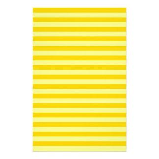 Thin Stripes - Yellow and Dark Yellow Stationery