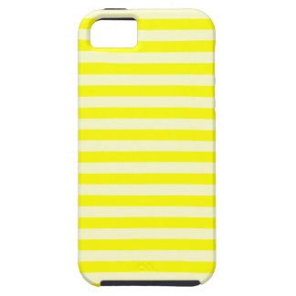 Thin Stripes - Yellow and Light Yellow iPhone 5 Case