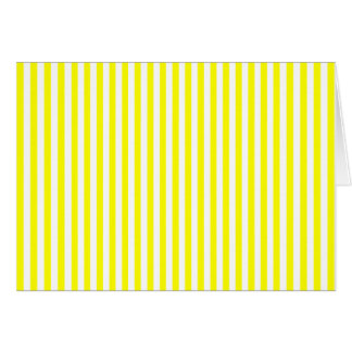Thin Yellow Stripes Card