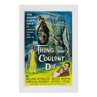 Thing That Couldn't Die (xl) Poster