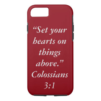 """Things Above"" Iphone 7 Touch Cell Phone Case"