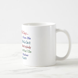 Things Dads Say--Father's Day Gifts Coffee Mugs