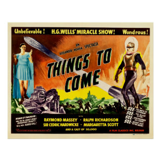 Things To Come - Vintage 1936 Movie Poster