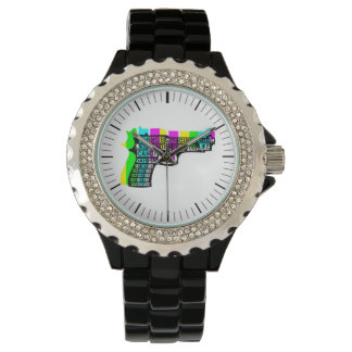 Things With Guns On Wrist Watches