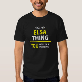thinIt's an ELSA thing, you wouldn't understand !g T Shirt