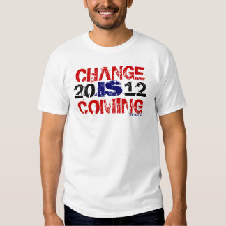 Think 2012 Change Is Coming Shirt