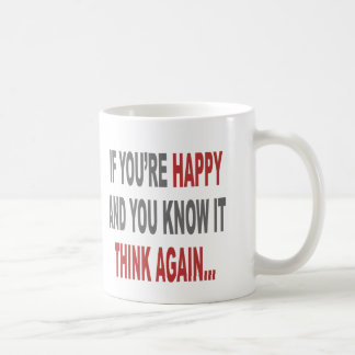 Think Again Coffee Mug