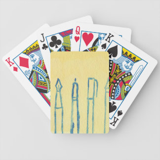 think ahead bicycle playing cards