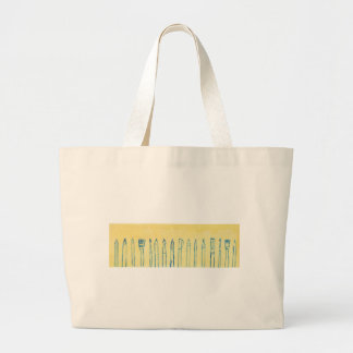 think ahead large tote bag