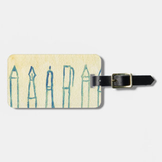 think ahead luggage tag