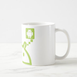 Think Android Coffee Mug