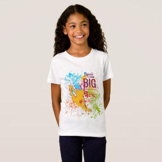 Think Big Girls' Fine Jersey T-Shirt