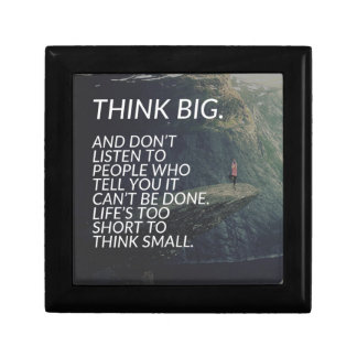 THINK BIG - Inspirational Words Gift Box