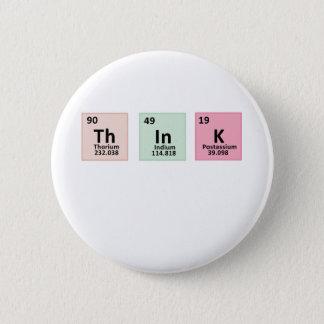 Think - Chemistry 2 Inch Round Button