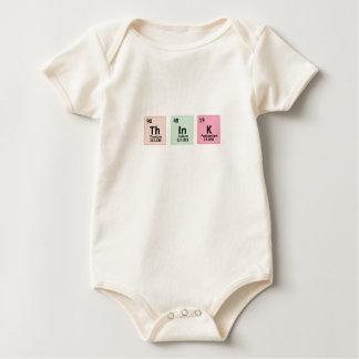 Think - Chemistry Baby Bodysuit