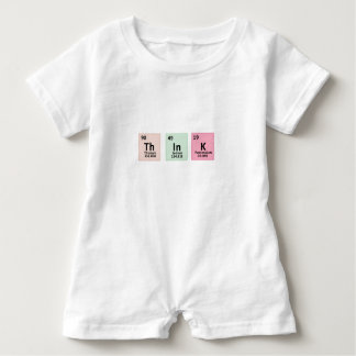 Think - Chemistry Baby Romper