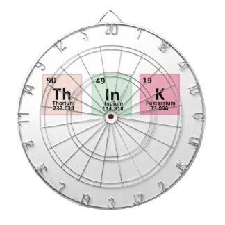 Think - Chemistry Dartboard