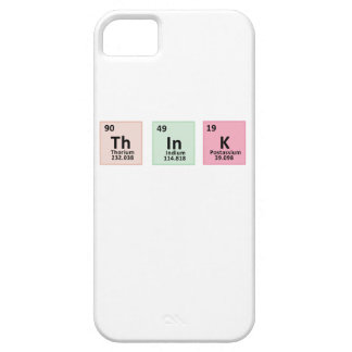 Think - Chemistry iPhone 5 Case